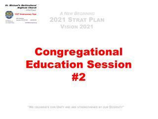 A New Beginning 2021  Strat  Plan Vision  2021