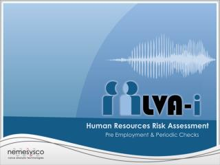 Human Resources Risk Assessment
