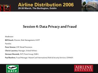 Session 4: Data Privacy and Fraud