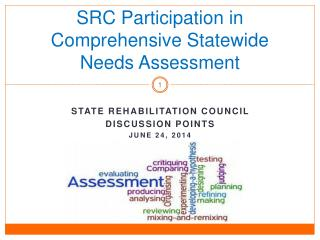 SRC Participation in Comprehensive Statewide Needs Assessment