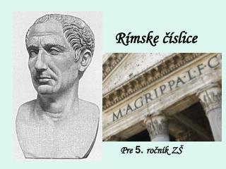 Rímske číslice