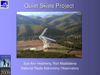 Quiet Skies Project