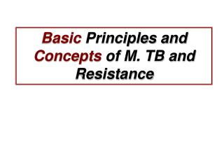 Basic Principles and Concepts of M. TB and Resistance