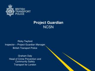 Project Guardian  NCSN