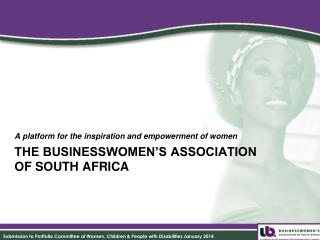 The Businesswomen's Association  of South Africa