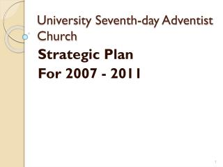 University Seventh-day Adventist Church