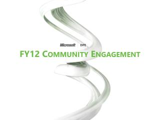 FY12  Community Engagement