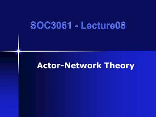 SOC3061 - Lecture08