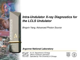 Intra-Undulator X-ray Diagnostics for the LCLS Undulator