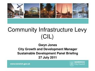 Community Infrastructure Levy (CIL)