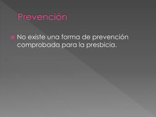 Prevenci�n