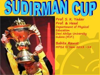 SUDIRMAN CUP