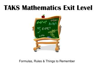 TAKS Mathematics Exit Level