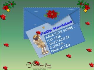 ABRA ESTE SOBRE… HAY UNA  INVITACION ESPECIAL PARA USTED