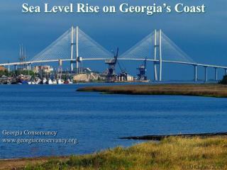 Sea Level Rise on Georgia's Coast