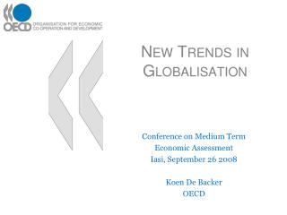 New Trends in Globalisation