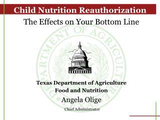 Child Nutrition Reauthorization