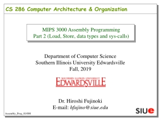 8-bit MIPS Processor