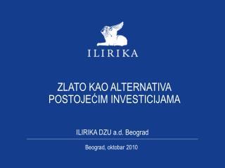 ILIRIKA DZU a.d. Beograd