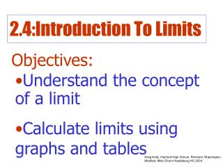 2.4:Introduction To Limits