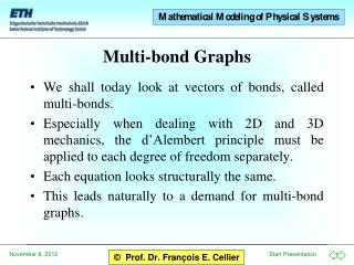 Multi-bond Graphs