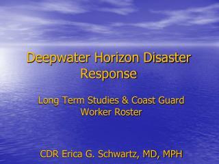 Deepwater Horizon Disaster Response