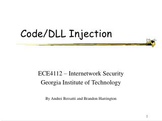 Code/DLL Injection