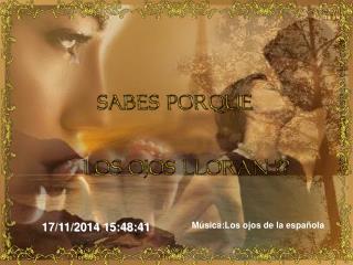 Música:Los ojos de la española
