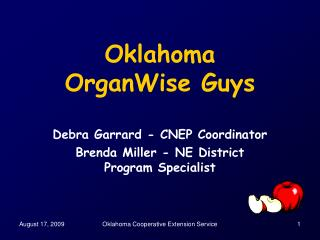 Oklahoma  OrganWise Guys