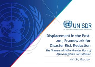 The Nansen  Initiative  Greater  Horn of Africa Regional  Consultation