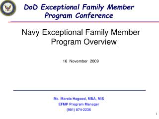 DoD Exceptional Family Member Program Conference
