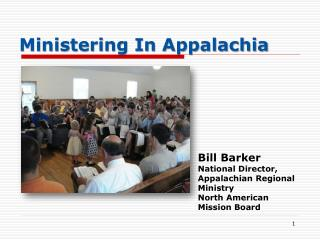 Ministering In Appalachia