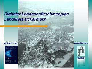 Digitaler Landschaftsrahmenplan Landkreis Uckermark