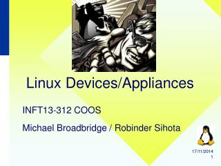 Linux Devices/Appliances