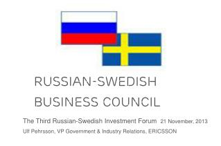 RUSSIAn-SWEDish  Business Council