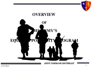 OVERVIEW  OF THE ARMY'S EQUAL OPPORTUNITY PROGRAM