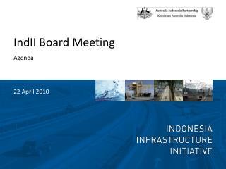 IndII  Board Meeting