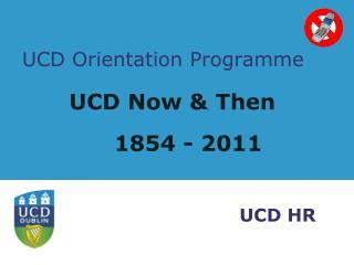 UCD Orientation Programme