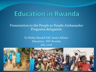 Education in Rwanda