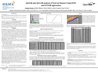 (Q)SAR and (Q)AAR analysis of ToxCast Dataset Using PASS  and GUSAR approaches