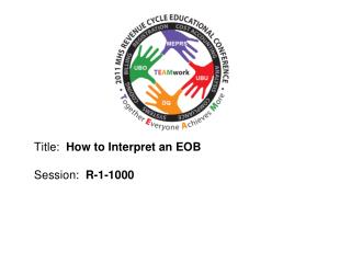 Title:   How to Interpret an EOB Session:   R-1-1000