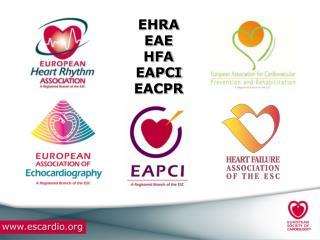 EHRA EAE  HFA  EAPCI EACPR