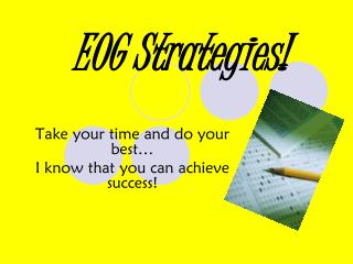 EOG Strategies!