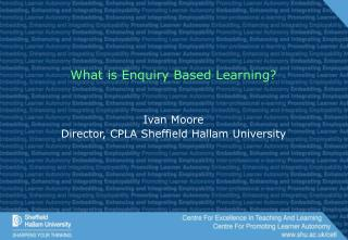 What is Enquiry Based Learning?