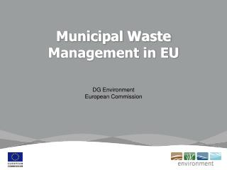 Municipal Waste Management in EU
