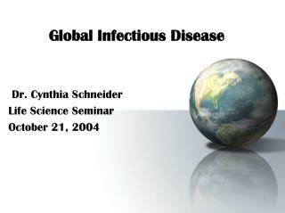 Global Infectious Disease