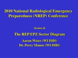 2010 National Radiological Emergency Preparedness (NREP) Conference