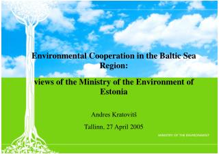 Environmental Cooperation in the Baltic Sea Region: