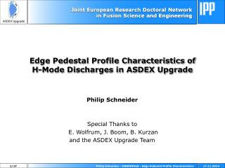 Edge Pedestal Profile Characteristics of  H-Mode Discharges in ASDEX Upgrade