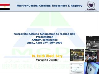 Misr For Central Clearing, Depository & Registry